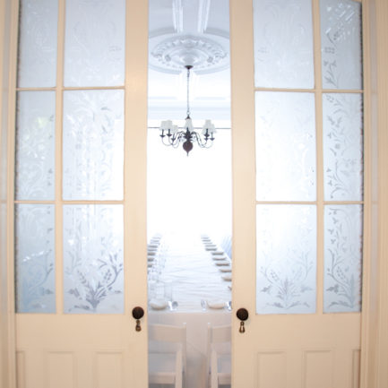 Parlor Floor Doors