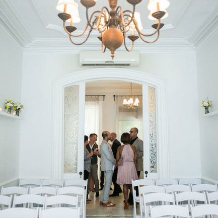 parlor floor ceremony