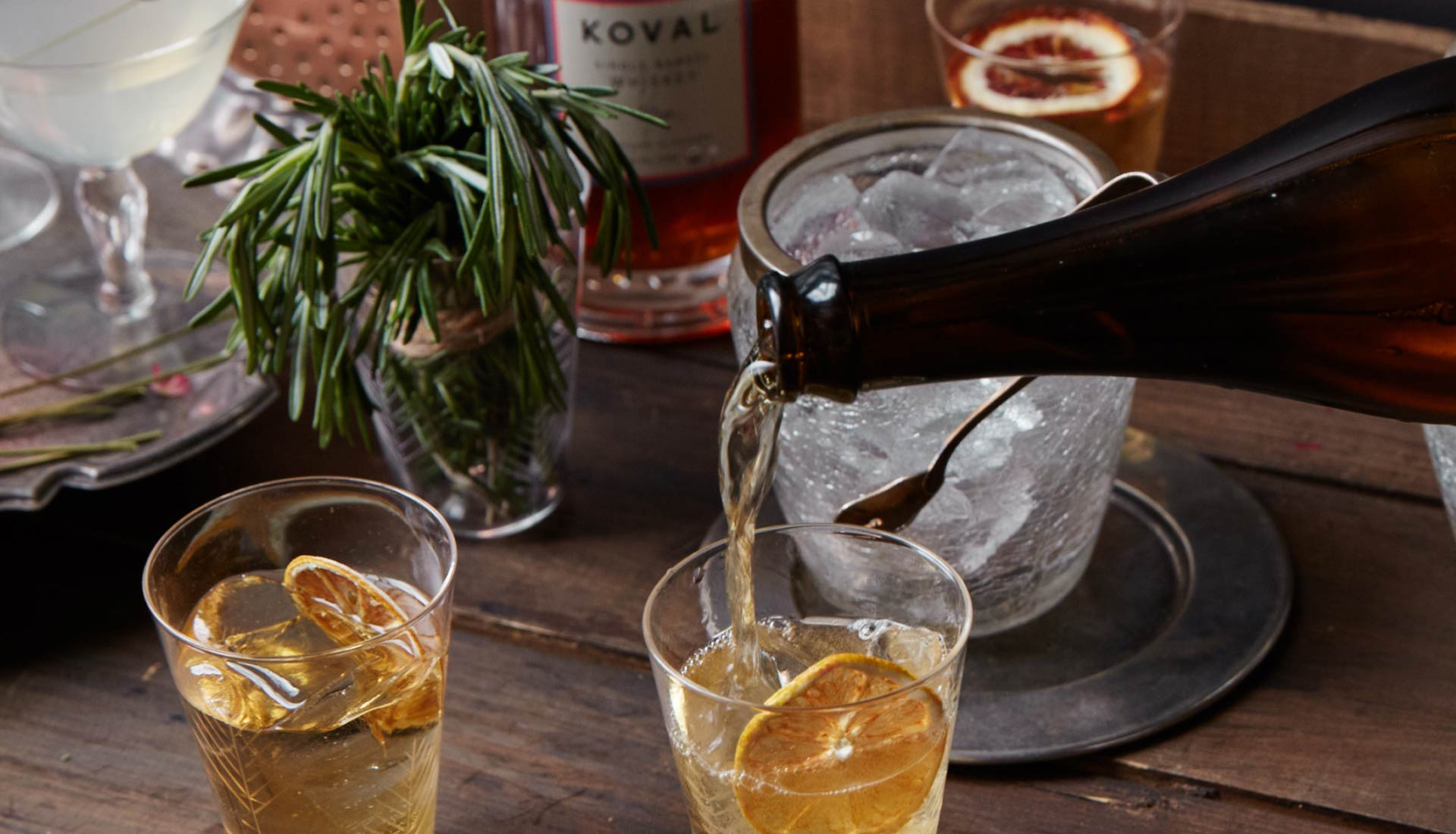 Craft cocktails at Maison May Vanderbilt private events