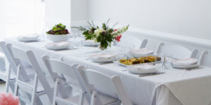 Bridal showers in the perfect setting at Maison May brownstone