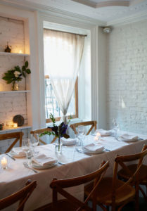 Private Lunch And Dinner In Brooklyn Brownstone