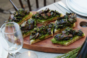 Farm to table food at every Maison May event