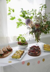 Farm to table food for large brunch reservations in Brooklyn