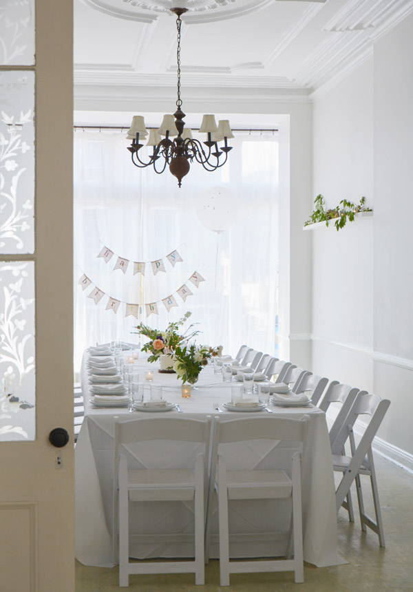Brooklyn brownstone perfect for birthdays and bridal showers