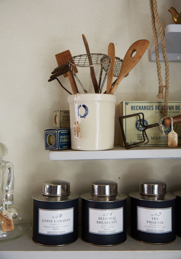 Artisanal kitchen goods for sale at Maison May Vanderbilt