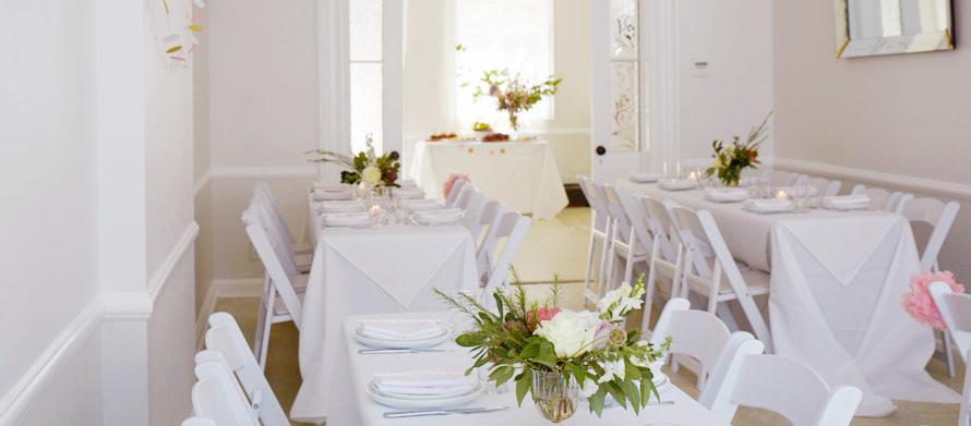 baby and bridal showers in perfect brooklyn brownstone setting