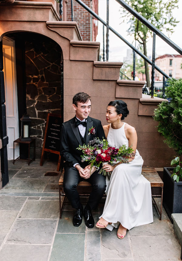 Idyllic Brooklyn Brownstone setting for weddings and private events