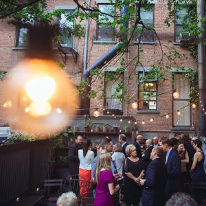 Exclusive Brooklyn Brownstone garden for private events