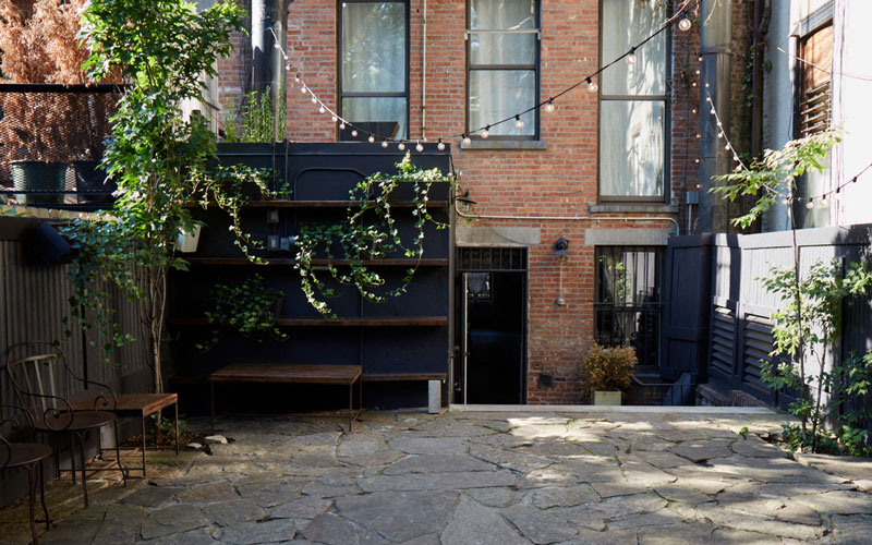 Unique outdoor wedding venue in Brooklyn New York