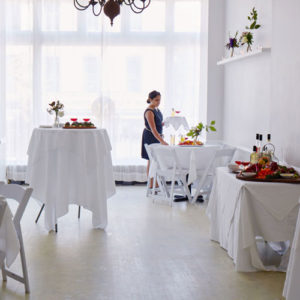 Brooklyn Brownstone for weddings and private cocktail and dinner events