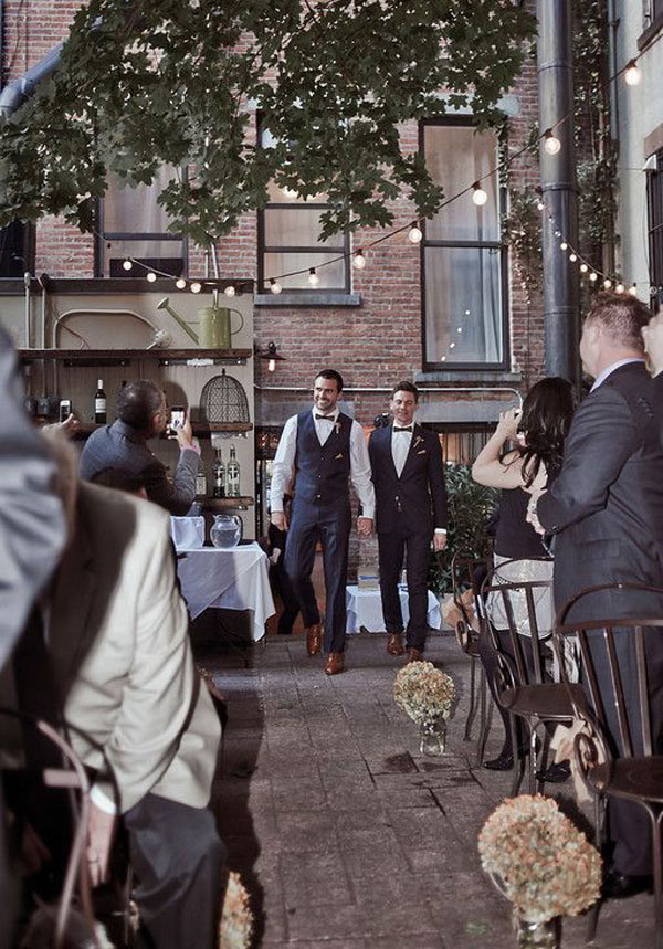 Perfect private wedding venue in exclusive Brooklyn Brownstone
